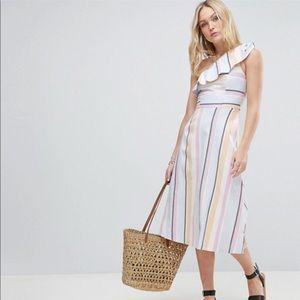 BNWT — ASOS Striped Dress — 6 Tall